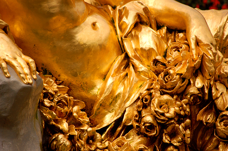 Linderhof fountain detail