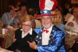 Debra and Uncle Sam (he caught her)