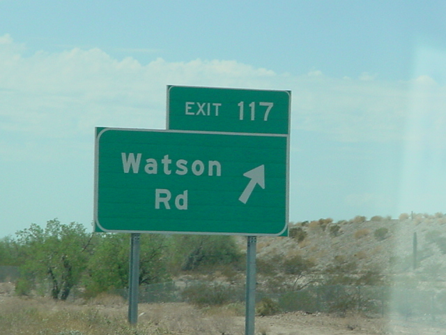 D Watson is with me