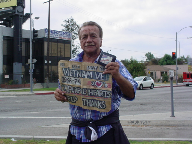 This is a Veteran. He does have a pension.