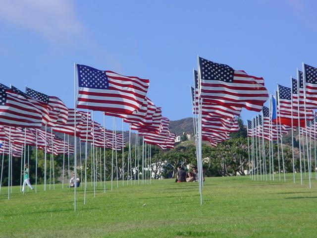 Pepperdine University <br>Malibu Flags Sunday