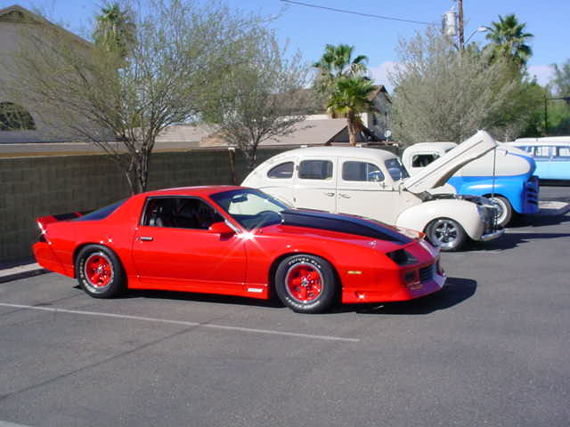 orange 1993 Camero