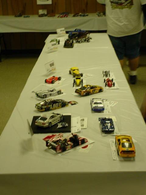 model car table