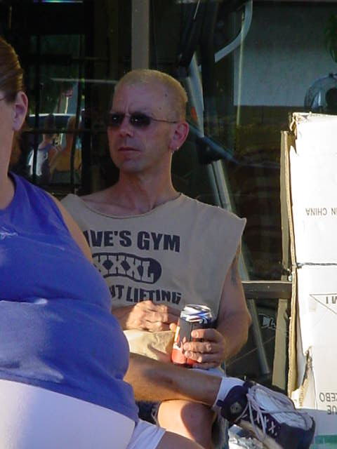 Jeffrey Louis<br>at Daves Gym