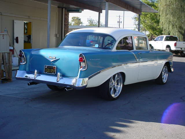 1956 Chevy 2 door