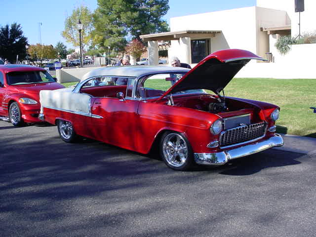 1955 Chevy<br>beautiful