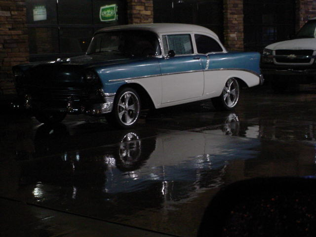 1956 Chevy reflection