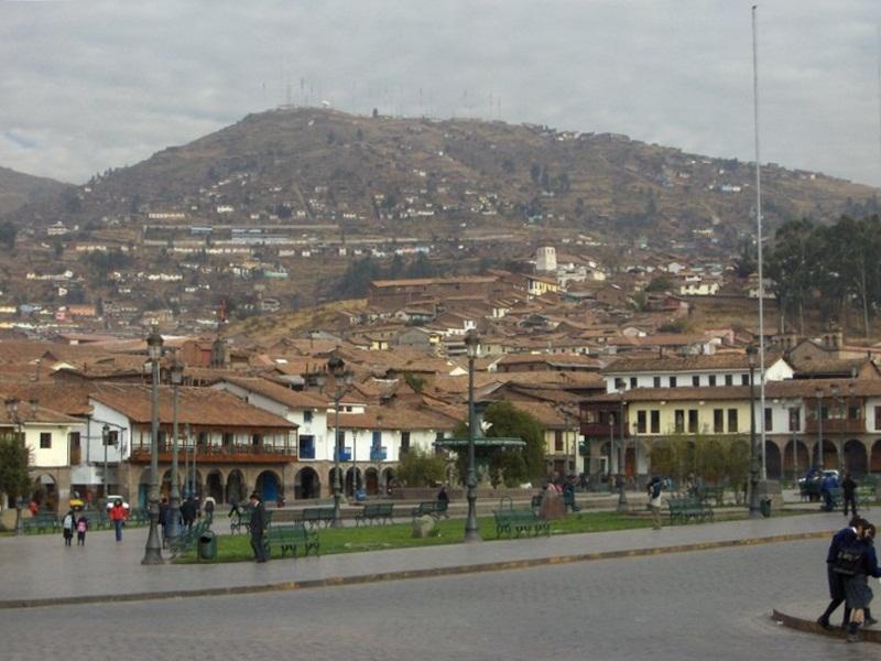 Cusco.Plaza de Armas