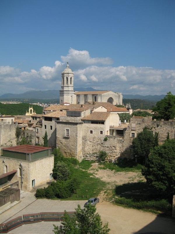 Vista des del Passeig de la Muralla