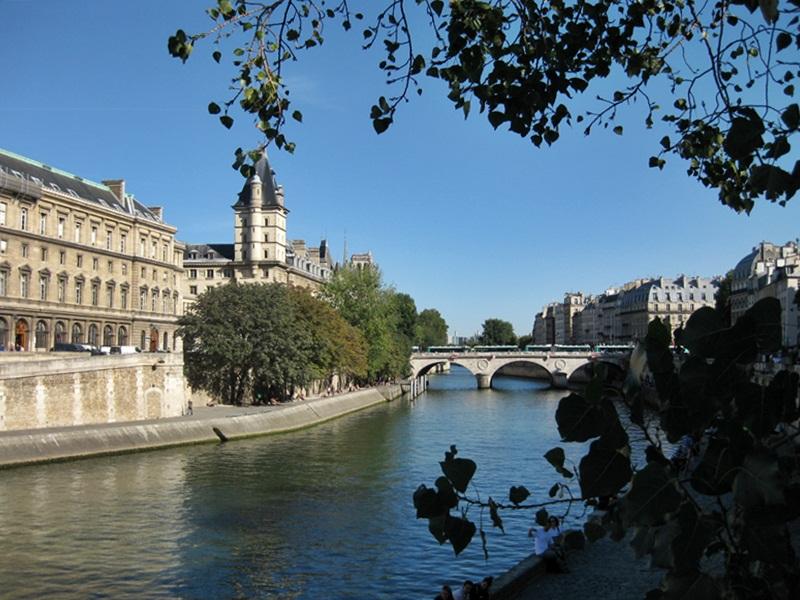 Paris. The Seine