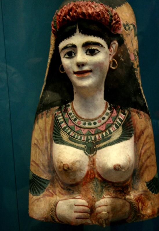 mask of a woman - Egypt