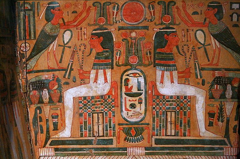 egyptian funeral art
