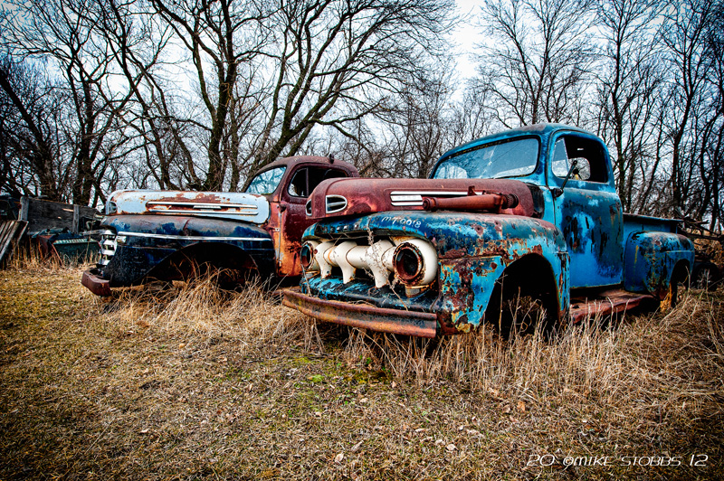 1951 & 1949 Mercury Trucks