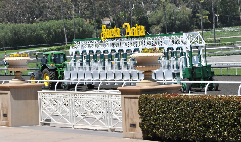 Movable Starting Gate