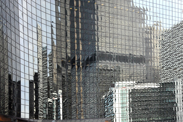 One of many building reflections in the city!