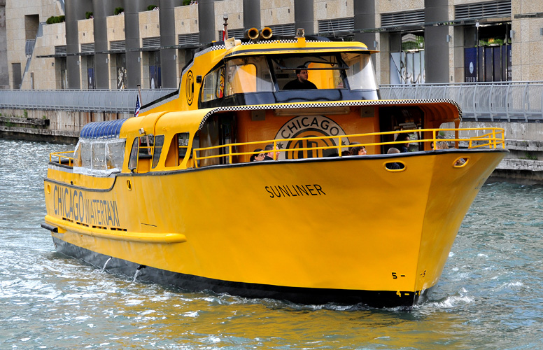 Chicago Water Taxi!