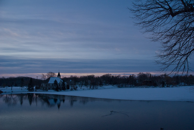 Mill Pond Sunrise  ~  April 13