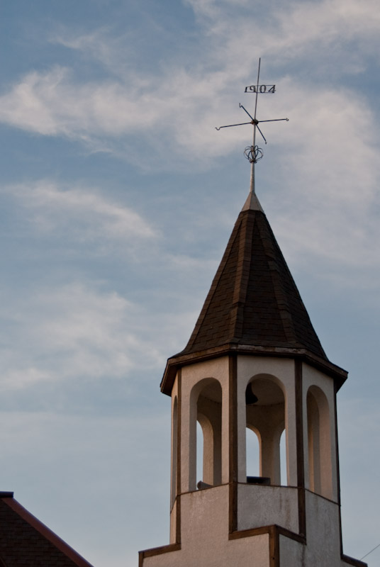 Mill Pond Church Steeple  ~  April 11