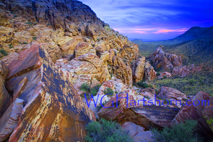 Red Rock Canyon Afterglow