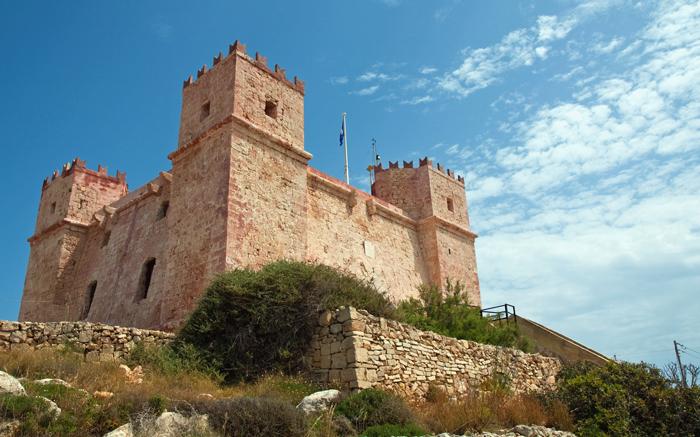 Fort Agathe, le Fort rouge