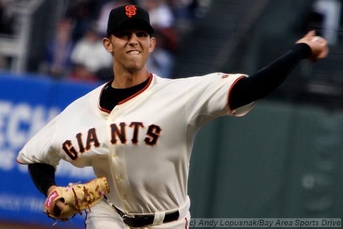San Francisco Giants pitcher Madison Bumgarner