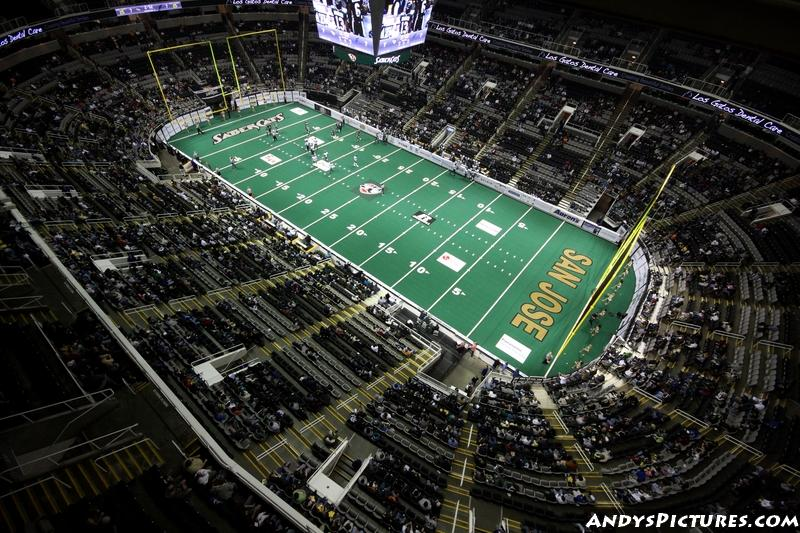 Time Lapse: Arena Football at HP Pavilion