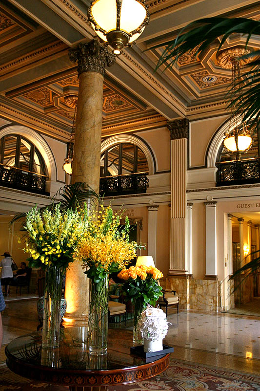 Lobby of the Willard Hotel