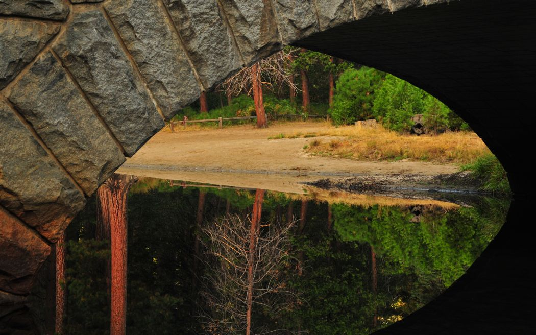 Beneath Stoneman Bridge