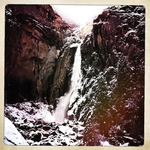 Base of Yosemite Falls - Hipstmatic