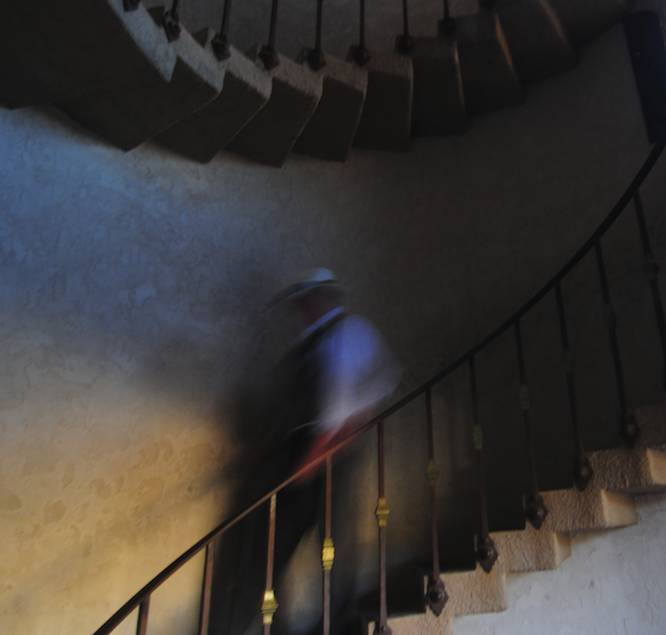 Ghost at Scottys Castle