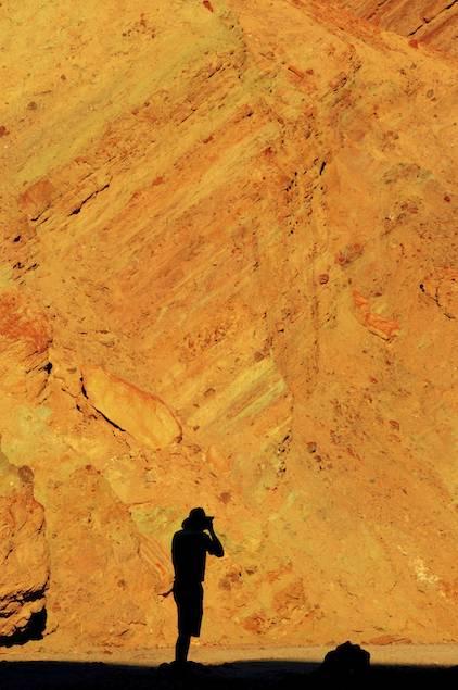 Dan in Golden Canyon