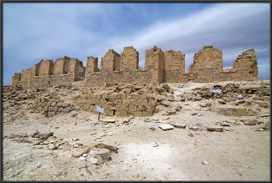 Nizana - at the Sinay border
