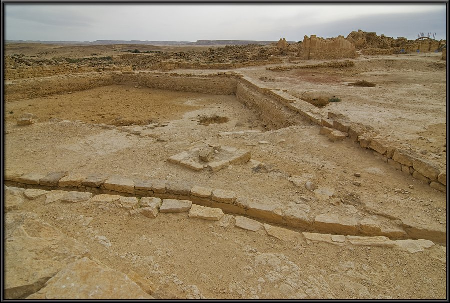 Shivta - ancient water systems in the barren land