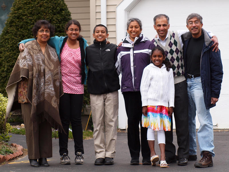 Family picture - April 2012
