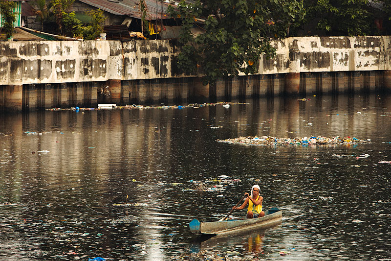 Paddling past pollution