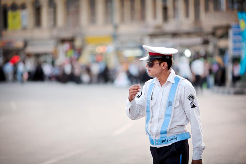 Traffic officer - Hamedan