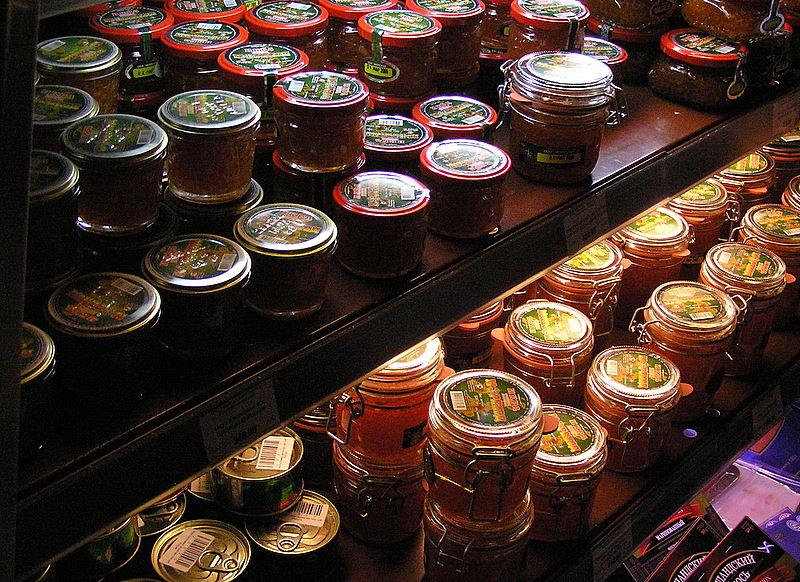 Moscow supermarket caviar.JPG