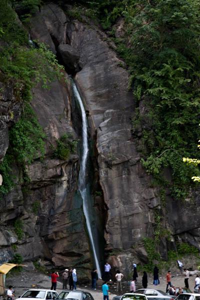 Javaher deh Road Waterfall