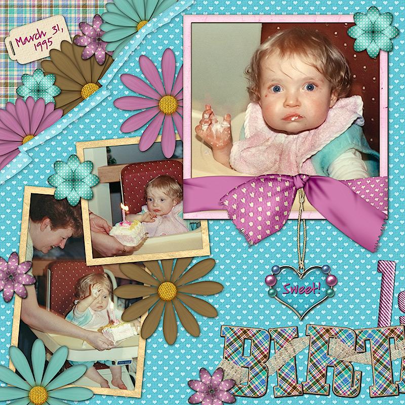 1st Birthday - page 1