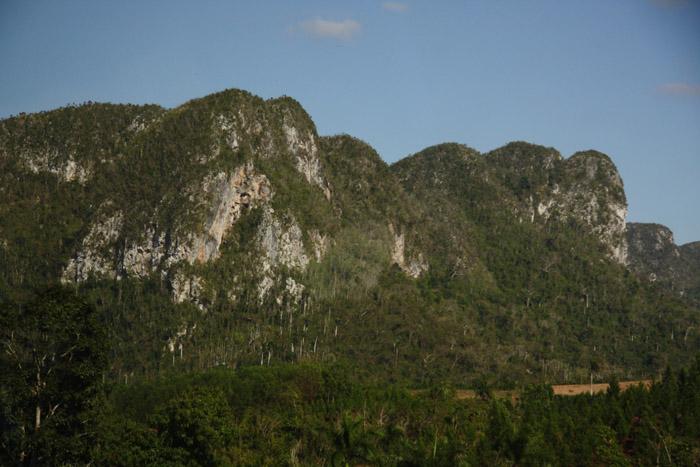 Mountains near Cueva de Los Portales