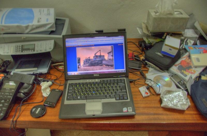Desk HDR