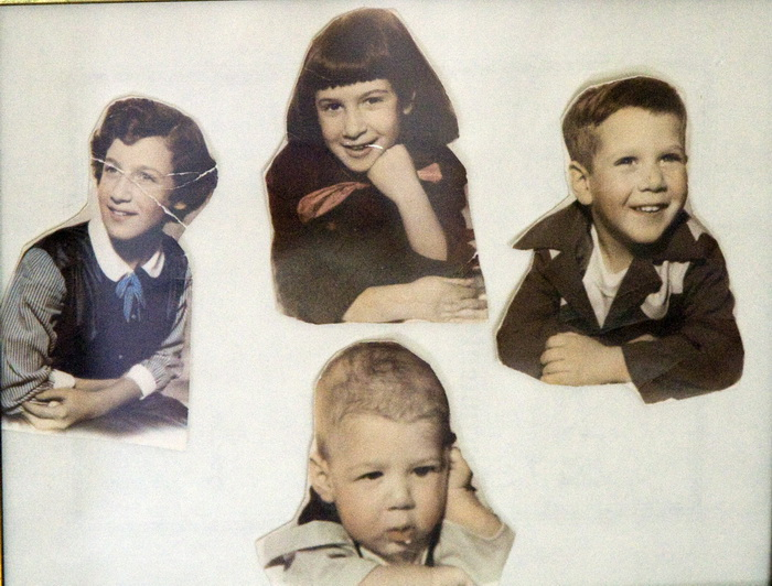 The Levin Kids  1953