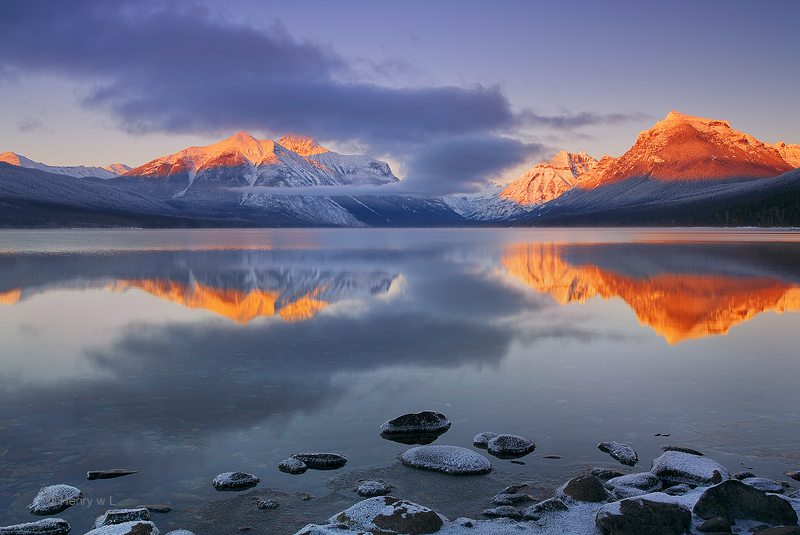 Lake McDonald Glacier National Park Montana