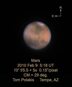 Mars: 2/9/10
