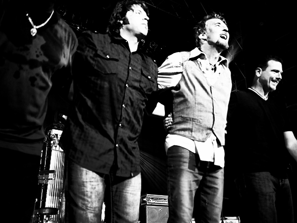 Rock, Scott, Kenny & Shem with their final bow ~