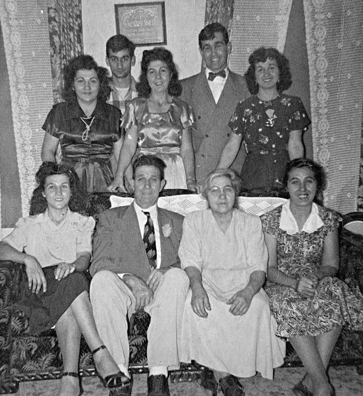 DeFeudis (my Fathers) Family in 1950