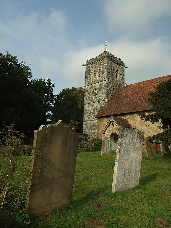 The  church  of  St.Peter  and  St.Paul , Leybourne