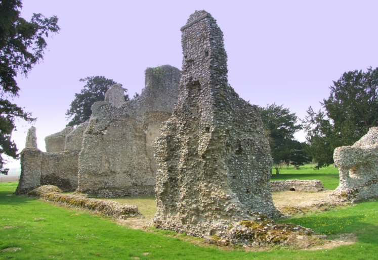 Weeting Castle: the extant remains