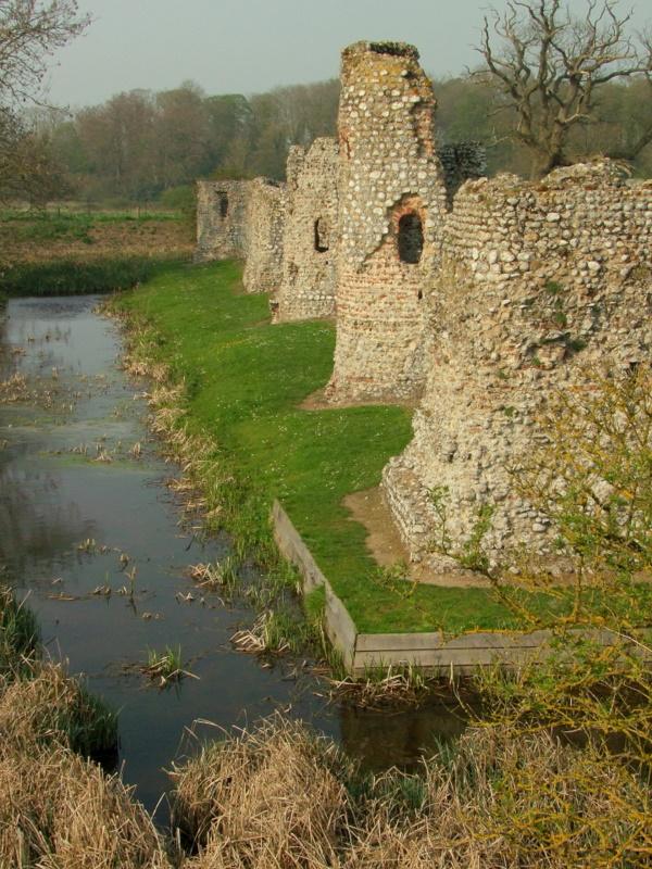 Baconsthorpe Castle,the western tower range