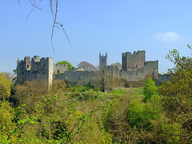 Ludlow Castle, a  Marcher Lords fortress.